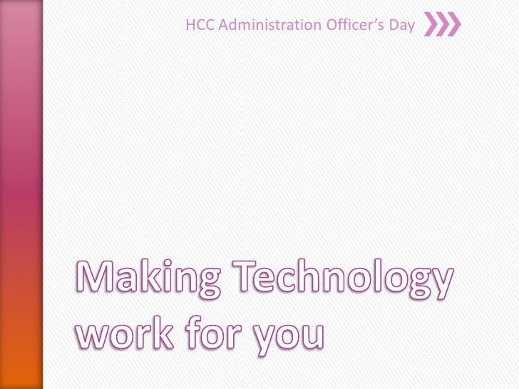 HCC Administration Officer's Day