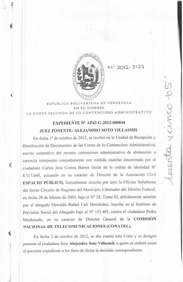 -    I,«                                                                   20^-                   REPÚBLICA BOLIVARIANA DE...