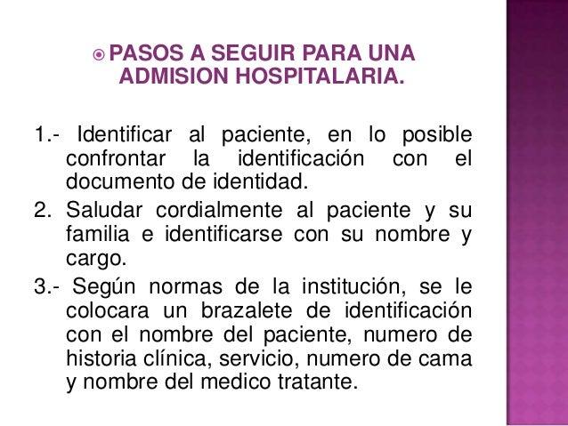 Baño General Del Paciente:Admision y egreso haspitalario