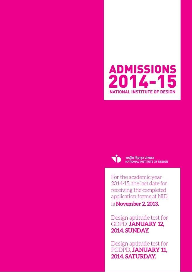 Admission 2014 15_brochure