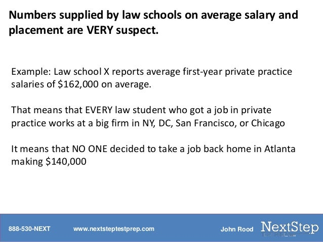 Is it true that law school admissions is a numbers game?