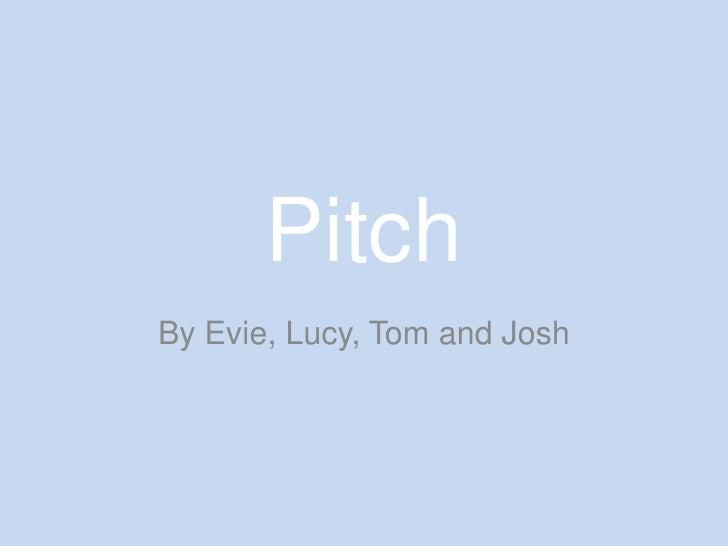 Admittance pitch