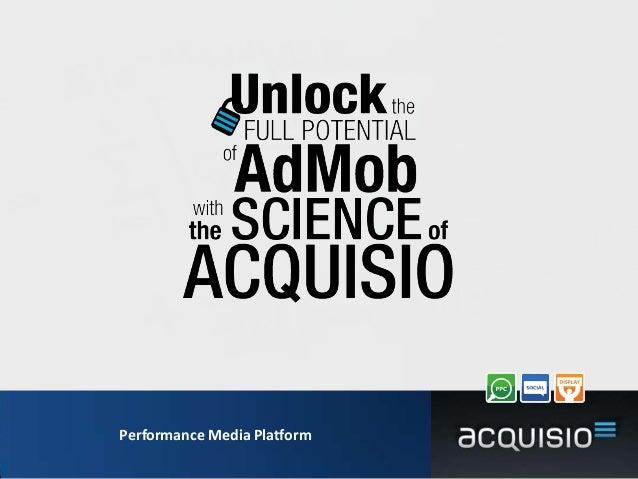 Performance Media Platform