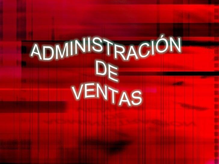Admon  De Ventas