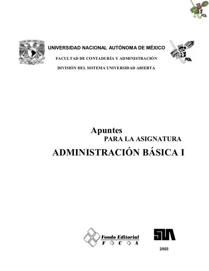 Admon bas1