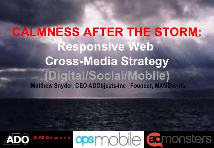 Responsive Web Cross-Media and Mobile