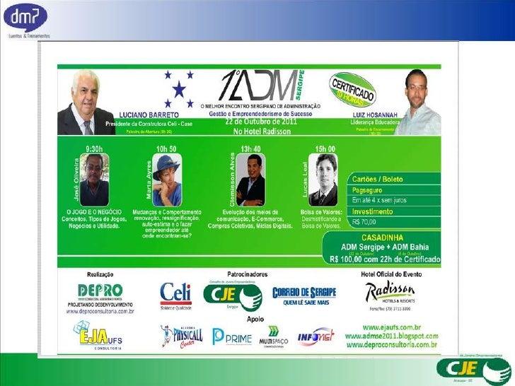 Palestra - Inovação no Mundo Digital (ADM SERGIPE)