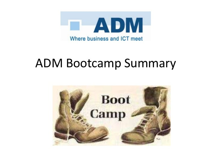 Adm SoMe bootcamps   overview