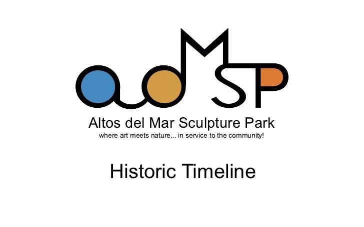 ADMSP Historic Timeline