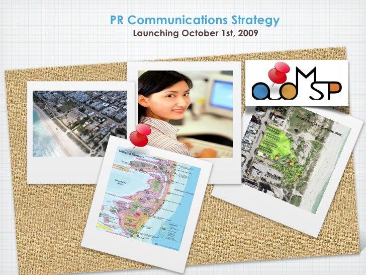 ADMSP Public Relations Communications Strategy
