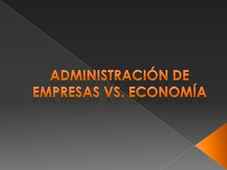 La Administración es considerada unaAdministrador de Empresas                            ciencia, una técnica y un arte. ...