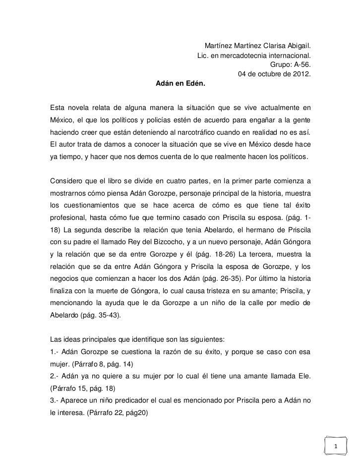 Martínez Martínez Clarisa Abigail.                                              Lic. en mercadotecnia internacional.      ...