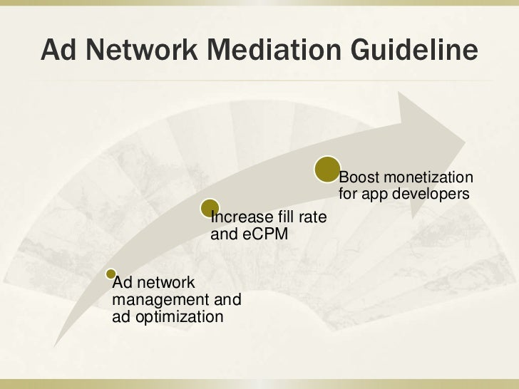 Ad Network Mediation Guideline                                    Boost monetization                                    fo...