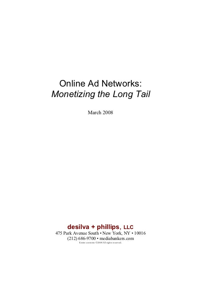 Ad networks white paper