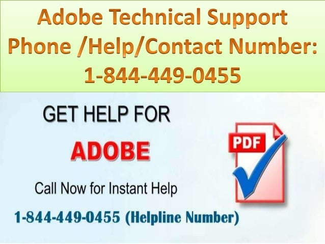 adobe phone support number