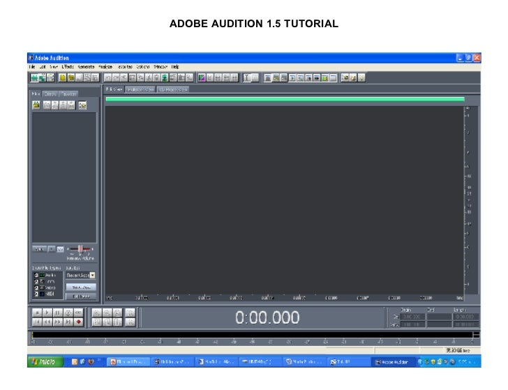 Adobe Audition 1 5 For download