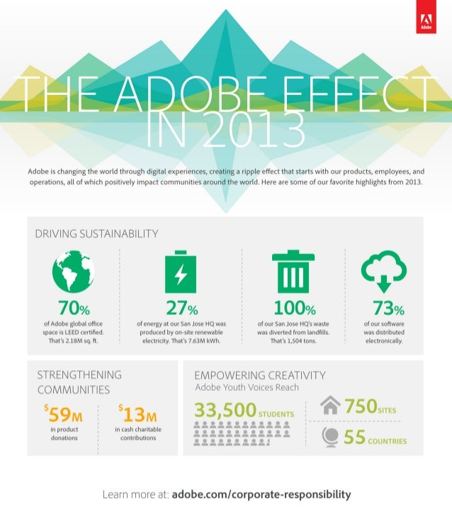 The Adobe Effect in 2013