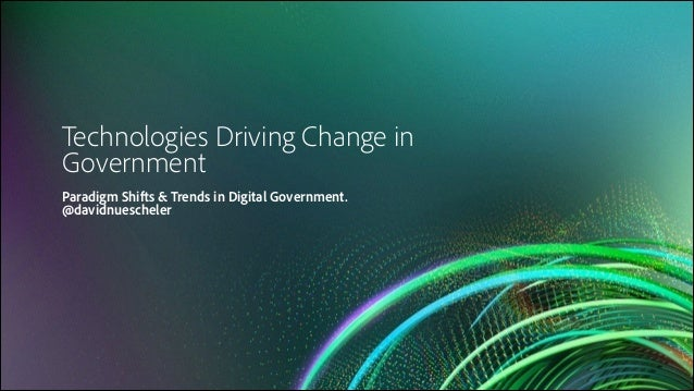 Telenor & Adobe  Experience Manager & Marketing OPEN Architecture & Roadmap  Technologies Driving Change in Government § ...