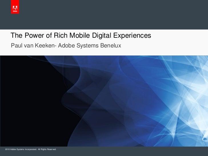 Mobile Convention Amsterdam - Adobe - Paul van Keeken