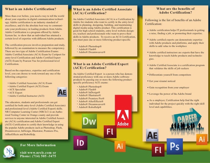 What is an Adobe Certification?                              What is an Adobe Certified Associate                         ...