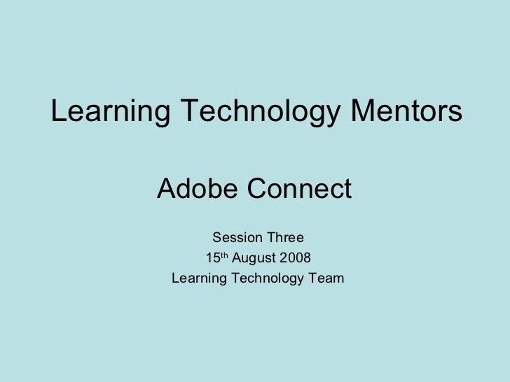 Adobeconnect Ltm Session3