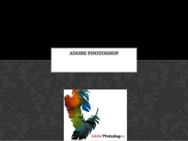 Editor de imagen (Adobe photoshop)