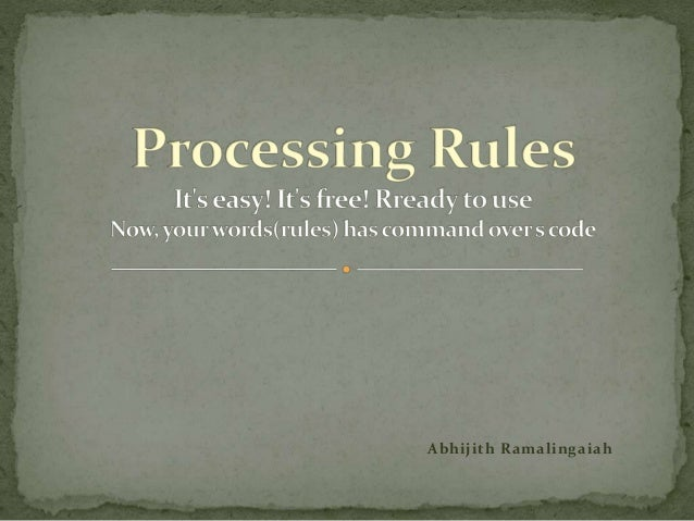 Site Catalyst Processing Rules