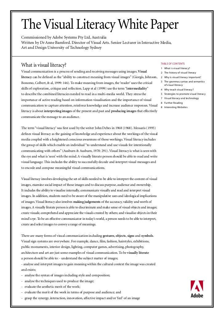 Adobe visual literacy_paper