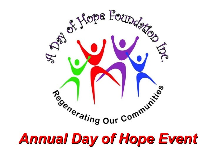 Annual Day of Hope Event