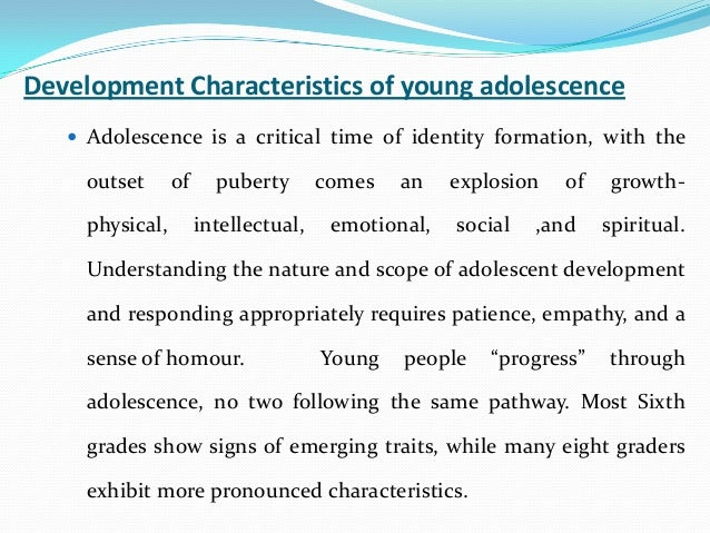 18- to 19-year-olds: Ages and stages of youth development