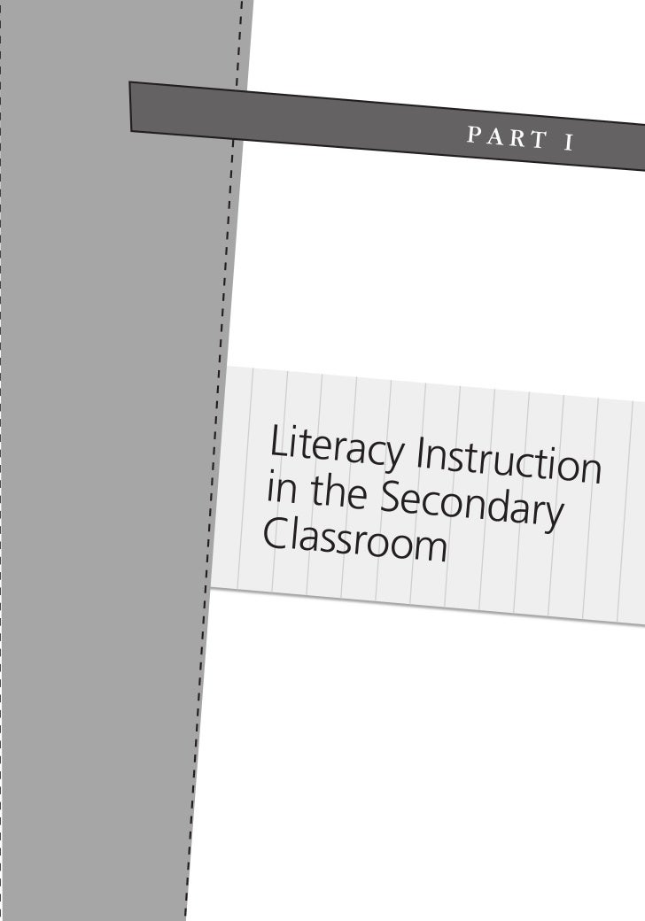 PART I                          Literacy Instruc                                          tion                          in...