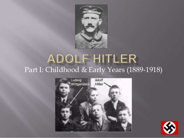 the early and later life of adolf hitler A timeline of adolf hitler events from 1905 on, hitler lived a bohemian life in vienna on an orphan's pension and support from his mother he was rejected twice by the on the morning of 30 january 1933, in hindenburg's office, adolf hitler was sworn in as chancellor during what some observers later described as a.