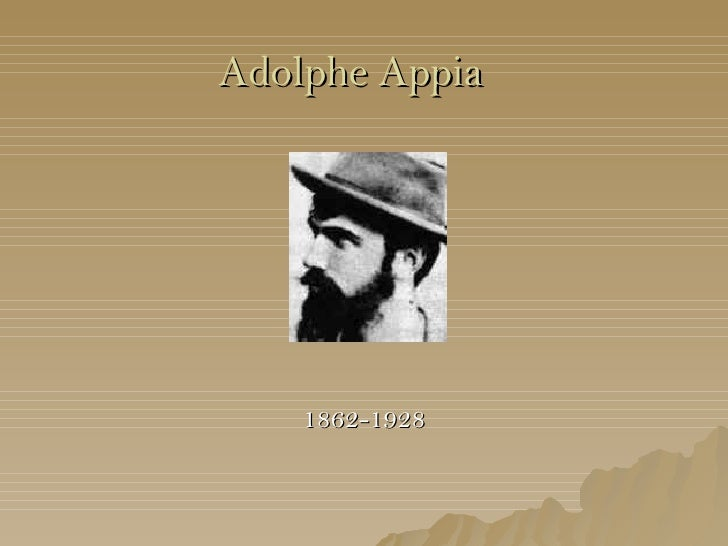 Adolphe Appia resource pack