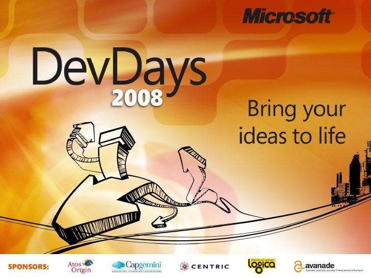 ADO.NET Entity Framework DevDays
