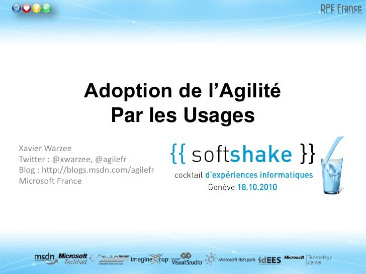 Adoption de l'agilité par les usages