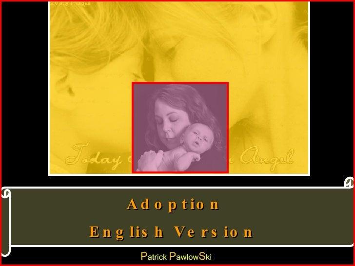 Adoption English Version