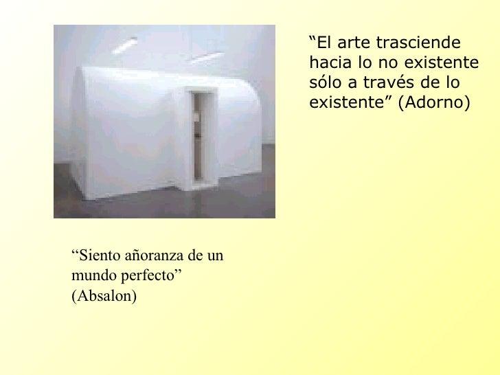 Tres tesis de Adorno y el arte actual