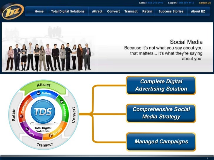 Comprehensive Social<br />Media Strategy<br />Complete Digital <br />Advertising Solution<br />Comprehensive<br />Social M...