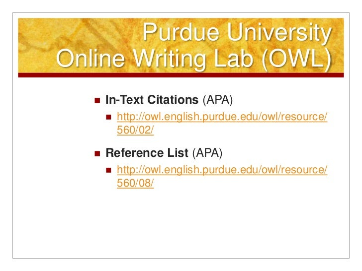 Purdue owl essay citation