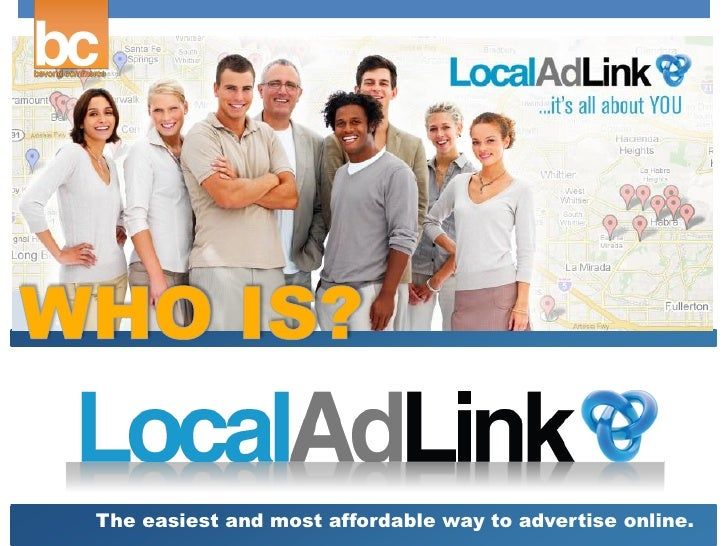 The easiest and most affordable way to advertise online.