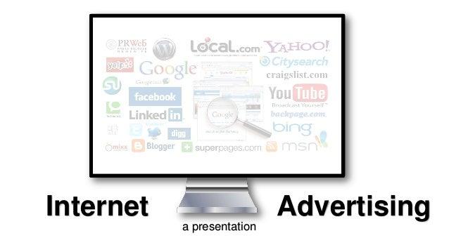 Internet  Advertising a presentation