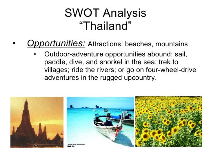 thai airways swot analysis Thai airways has daily flights from stockholm and copenhagen  in a swot analysis,  destination thailand news is fast becoming one of the most respected.