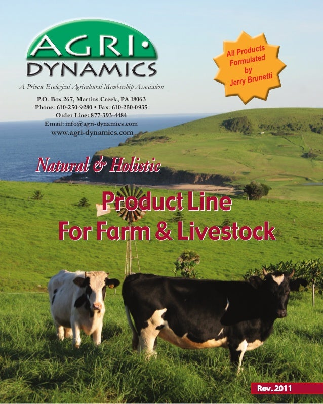 Agri Dynamics Catalog
