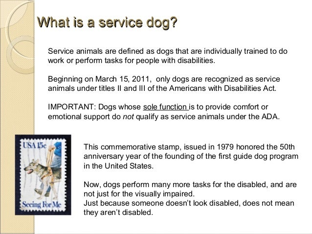 Psychiatric Service Dog Commands