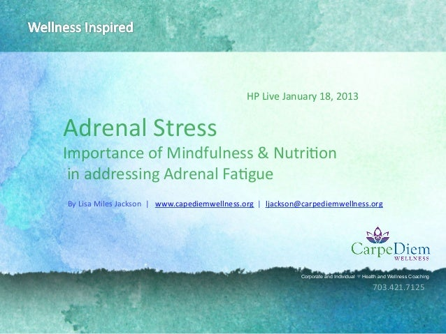 What is Adrenal Stress with Lisa Jackson