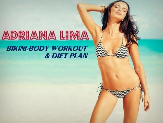 bikini-body workout & diet plan