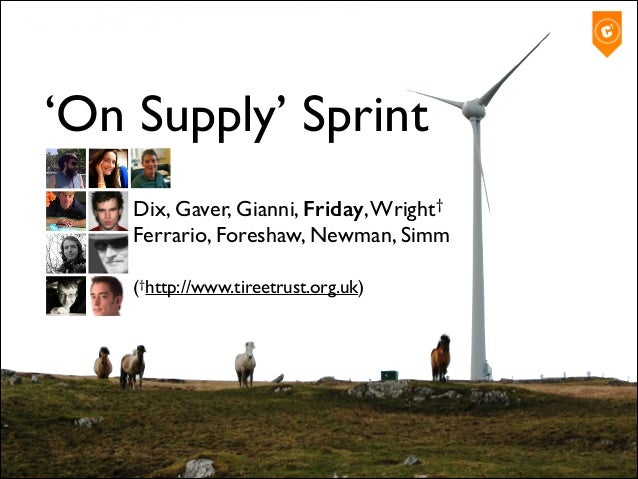 'On Supply' Sprint Dix, Gaver, Gianni, Friday, Wright†
