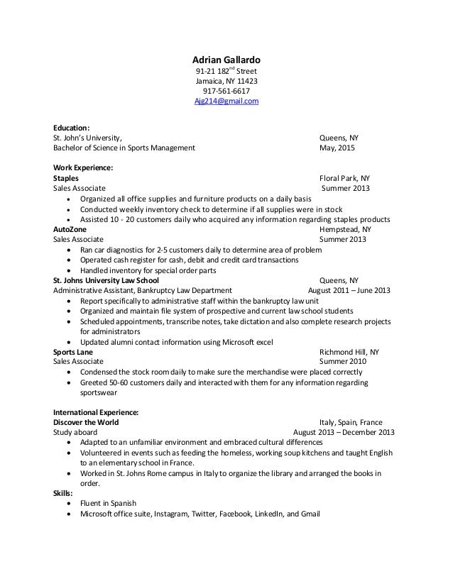 Resume Examples  Newest Resume Styles Latest Chartered Accountant