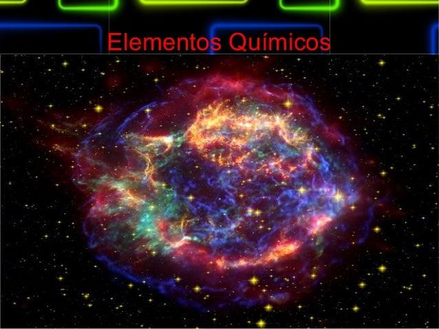 Elementos Químicos