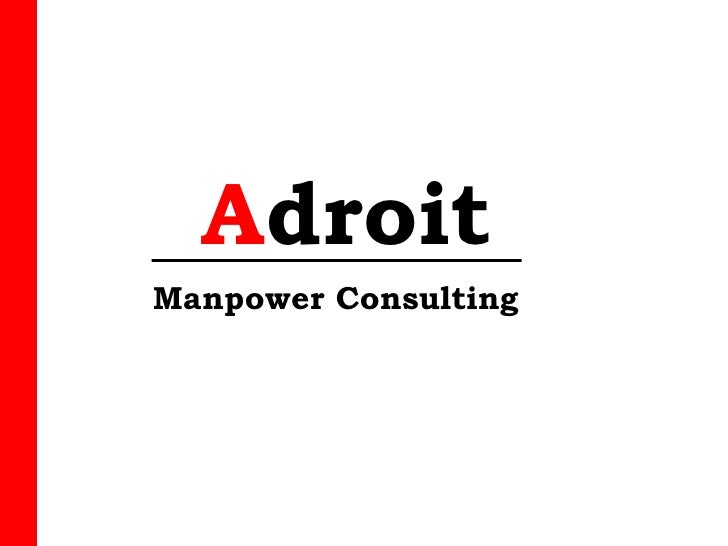 Adroit Manpower Consulting